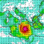 """Allerta Meteo, il freddo innesca un violentissimo """"Uragano Mediterraneo"""" sul mar Jonio: saranno 3 giorni terribili tra Calabria, Sicilia, Libia e Grecia [MAPPE e DETTAGLI]"""