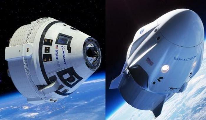 Le navette di SpaceX e Boeing