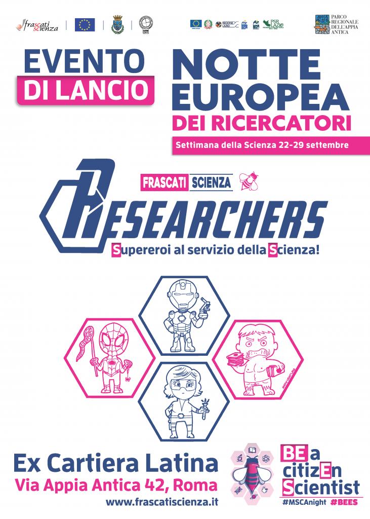 Researchers Evento Lancio