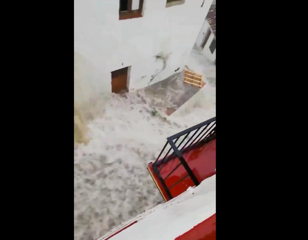 maltempo Spagna malaga