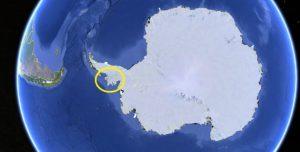 antartide rimbalzo glaciale