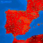 """Gli Uragani """"Florence"""" ed """"Helene"""" scatenano una storica ondata di caldo anomalo in Europa: +35°C in molti Paesi, le Previsioni Meteo dettagliate [MAPPE]"""