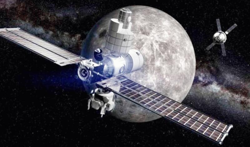 stazione spaziale luna
