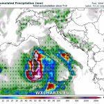 """Allerta Meteo """"Uragano Mediterraneo"""": precipitazioni estreme fino a sabato 22 settembre [MAPPE e DETTAGLI]"""