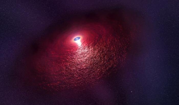stella neutroni luce infrarossa