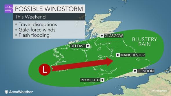 tempesta regno unito irlanda