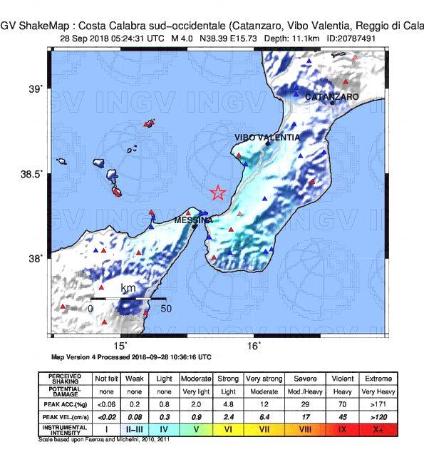 terremoto calabria