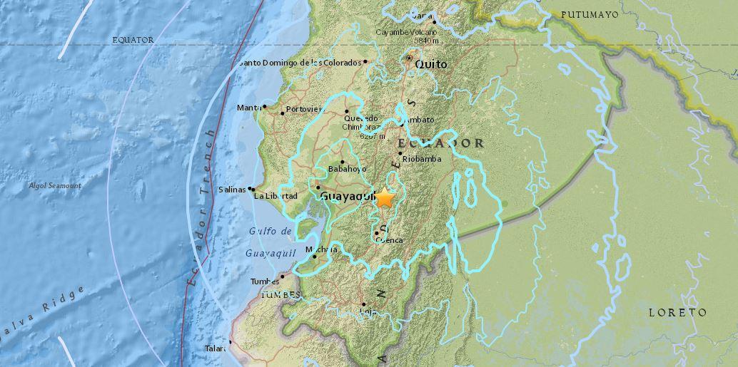 Risultati immagini per terremoto ecuador