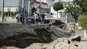 terremoto giappone Atsuma