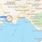 Terremoto, paura a Napoli per due scosse di terremoto nei vulcani: epicentro nel cratere del Vesuvio e alla Solfatara di Pozzuoli [MAPPE e DATI INGV]