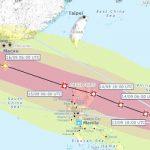 Il Super tifone Mangkhut minaccia le Filippine con venti di 205 km/h: oltre 4 milioni di persone a rischio [MAPPE]