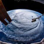 Uragano Florence: le spettacolari immagini dell'occhio della tempesta osservato dalla Stazione Spaziale Internazionale [FOTO e VIDEO]
