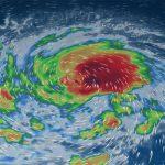L'uragano Florence si abbatte sulle Bermuda e potrebbe diventare di 4ª categoria prima di abbattersi sugli USA nei prossimi giorni [MAPPE]