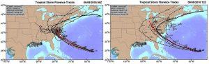uragano florence scenari