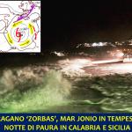 """Allerta Meteo, l'Uragano """"Zorbas"""" scatena la tempesta sul mar Jonio: notte di paura in Calabria e Sicilia, danni a Malta [LIVE]"""