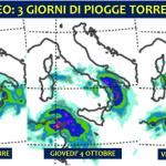 Allerta Meteo, forte maltempo al Sud: piogge torrenziali per tutta la settimana, allarme alluvione in Sicilia, Calabria, Puglia e Basilicata