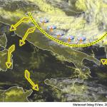 Allerta Meteo, l'aria fredda sfonda sull'Adriatico: inizia una violenta ondata di maltempo, attenzione al Centro/Sud [MAPPE]