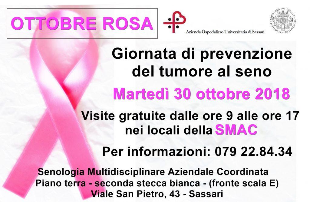 Campagna prevenzione tumore seno