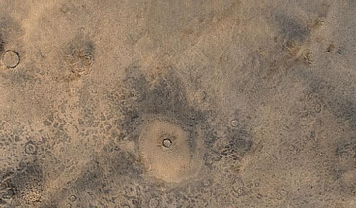 Le pianure situate a nord di Marte