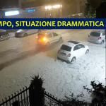 Maltempo, apocalisse di grandine a Roma: situazione drammatica nella Capitale, gravi blackout [FOTO e VIDEO LIVE]