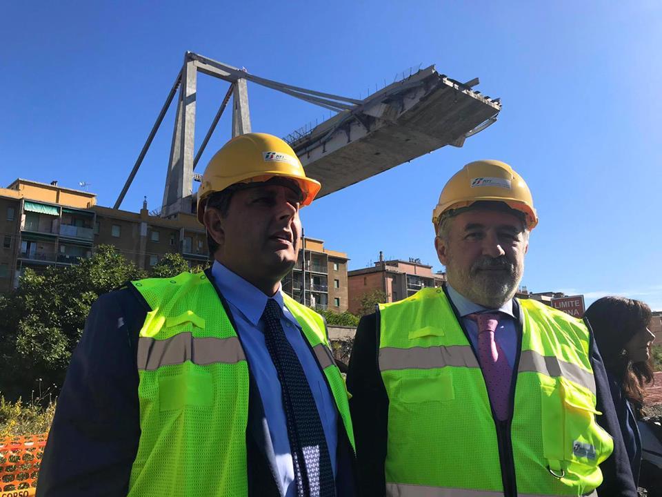 Marco Bucci ponte Morandi