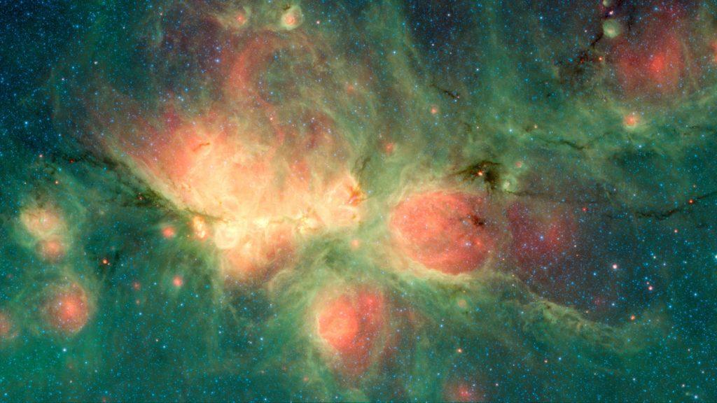 Nebulosa Zampa di Gatto Spitzer
