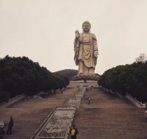 Spring Temple Buddha, Cina