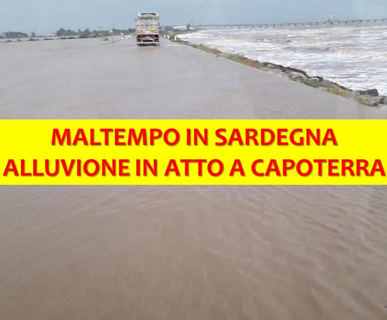 alluvione sardegna capoterra