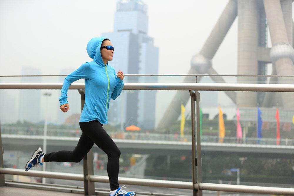 attività fisica inquinamento atmosferico salute
