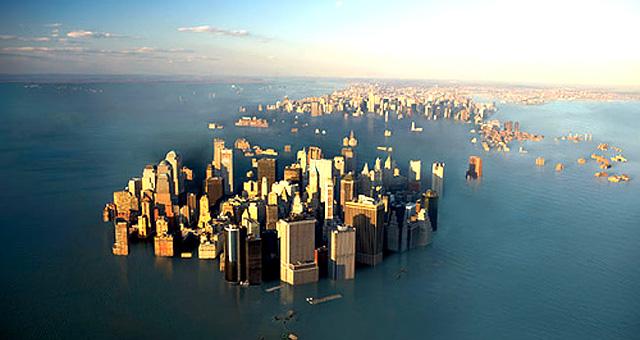 cambiamenti climatici aumento mari