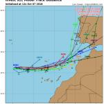 Previsioni Meteo, un ciclone colpirà Madeira e le Canarie nei prossimi giorni: attesi forti venti, piogge intense e alluvioni [MAPPE]