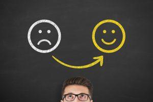 depressione felicità smile