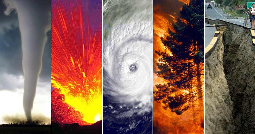 disastri naturali pianeta terra