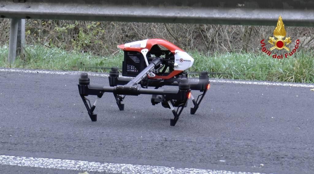 droni vigili fuoco