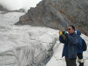 ghiacciaio Baishui cina