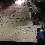 Maltempo, grandine a Roma: è una notte da incubo, automobilisti sui tetti per fuggire dagli allagamenti [FOTO e VIDEO LIVE]