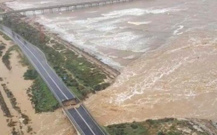 maltempo sardegna alluvione capoterra 3
