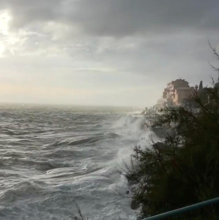 maltempo vento genova