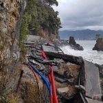 Mareggiata Liguria, Portofino è isolato: la strada non c'è più [FOTO]