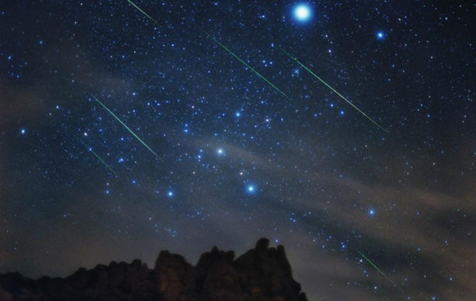 meteore orionidi 21 22 ottobre