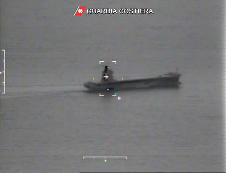 nave virginia collisione corsica
