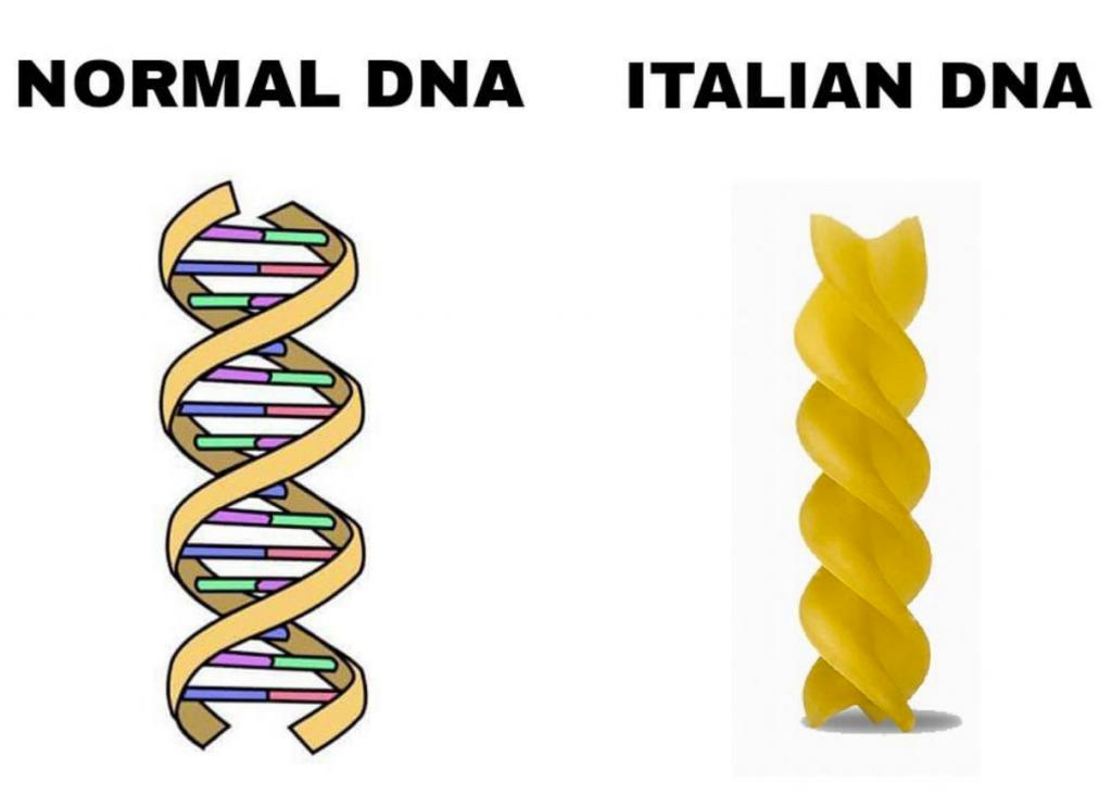 pasta dna italiani