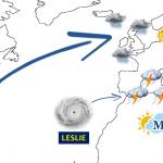 Previsioni Meteo, gli Uragani Leslie e Michael minacciano l'Europa: il Mediterraneo si prepara ad altre tempeste, alto rischio di nuove alluvioni tra Spagna, Francia, Italia, Algeria e Tunisia [MAPPE]