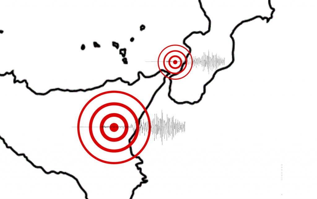 terremoti sud italia calabria sicilia 6 ottobre 2018