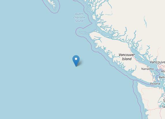 terremoto canada