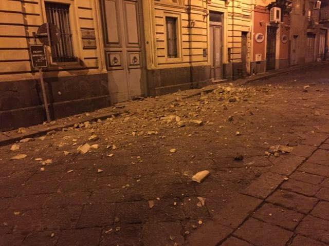 Crolli a Santa Maria di Licodia - Palazzo Ardizzone