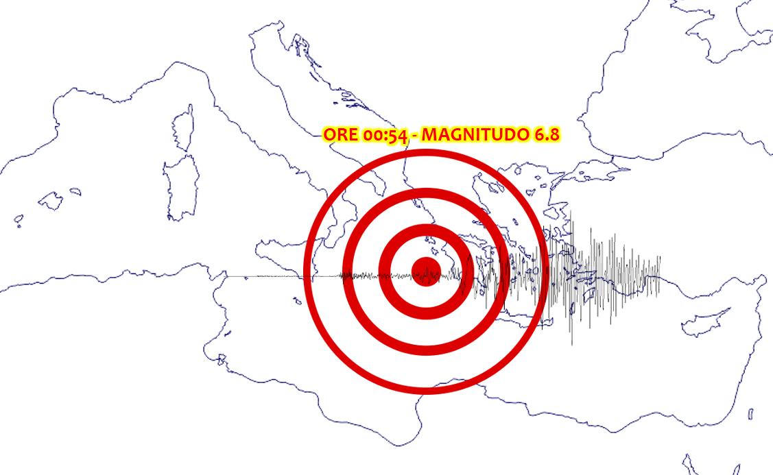 terremoto grecia zacinto tsunami italia