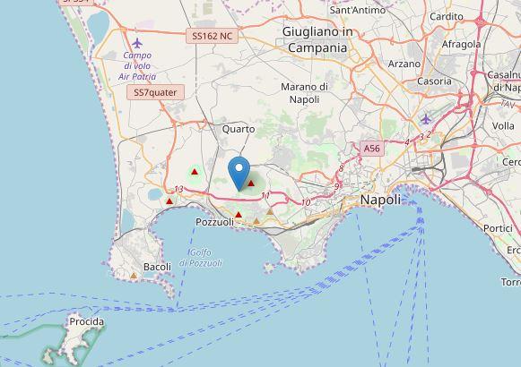 terremoto pozzuoli oggi