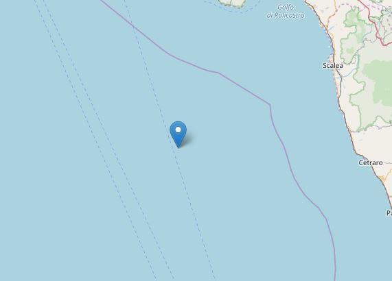 terremoto tirreno calabria