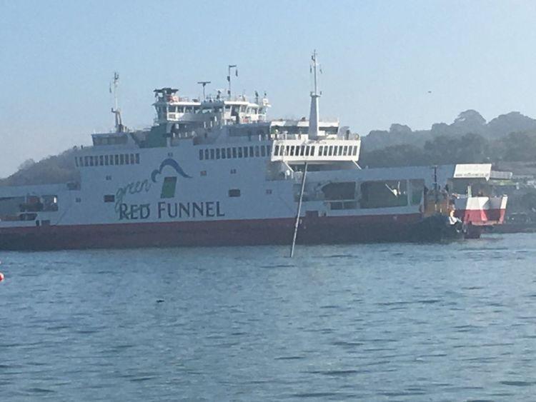 traghetto isola Wight